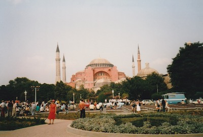 Hagia Sophia, Istanbul, 1988 (photo from the Braysher collection).