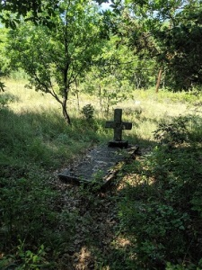 Grave at Oteševo, Northern Macedonia, which is possibly the last resting place of František Štěrba.