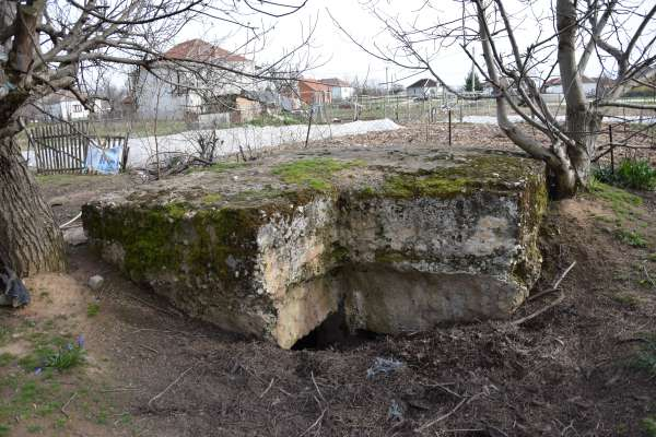 Bunker at Hill 1050. Photograph by Fabio Cotifava.