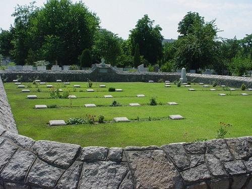 Photograph - Plovdiv Central Cemetery, Bulgaria. CWGC photo, supplied by Harry Fecitt.