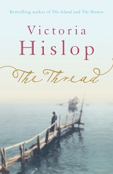 Book cover image: The Thread, by Victoria Hislop