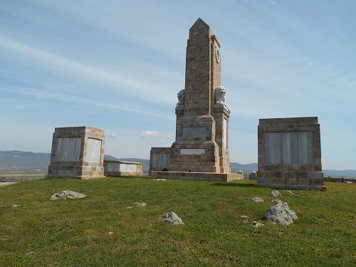 The Doiran Memorial.