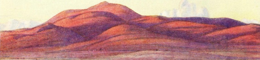 """From a watercolour by William T. Wood RWS. """"The 'Pip' Ridge""""."""