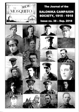 Front cover of 'The New Mosquito' issue number 38, September 2018