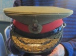 The service cap which belonged to Filed Marshal Milne, 1st Baron Milne. (Photo by Keith Roberts)